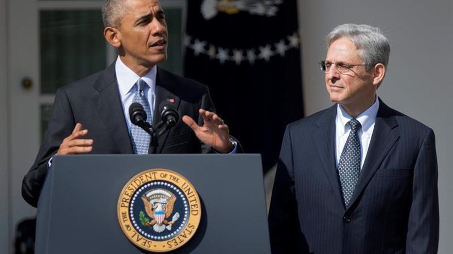 """Obama pide al Senado ser """"justo"""" con su nominado para el Supremo"""