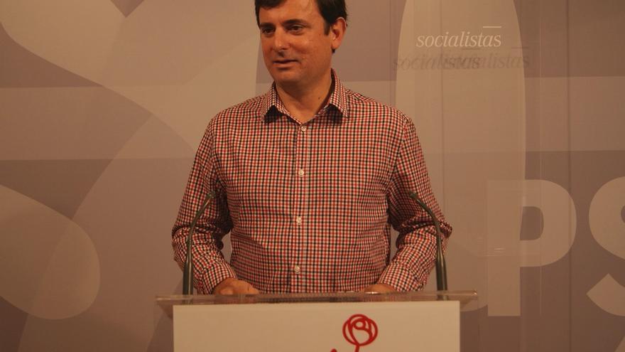 El secretario de Comunicación del PSRM-PSOE, Emilio Ivars