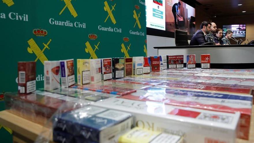 Del trapicheo a las redes: sigue el combate al tráfico de tabaco, aún en auge