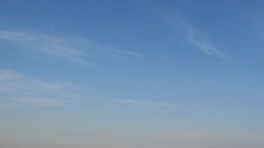 Boina de contaminación en Murcia