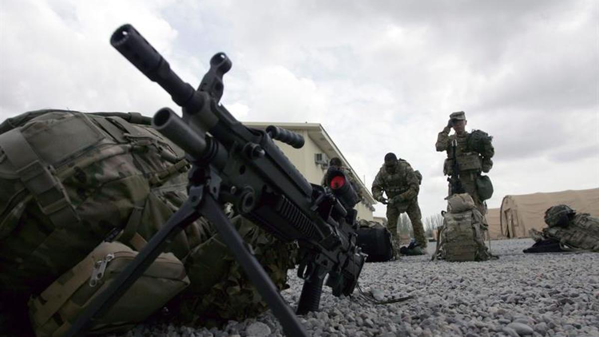 Imagen de archivo de una base militar estadounidense en Afganistán.