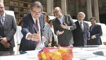 """Mas dice en la Expo de Milán que """"Cataluña y Barcelona son líderes mundiales de la vanguardia culinaria"""""""