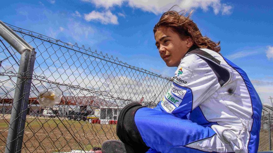 Santi Concepción Jr comenzó practica el automovilismo desde los 11 años.