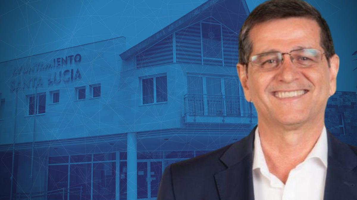 El alcalde del municipio grancanario de Santa Lucía de Tirajana, Santiago Rodríguez (Fortaleza- Coalición Canaria)