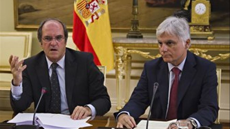 Ángel Gabilondo y José Miguel Pérez.