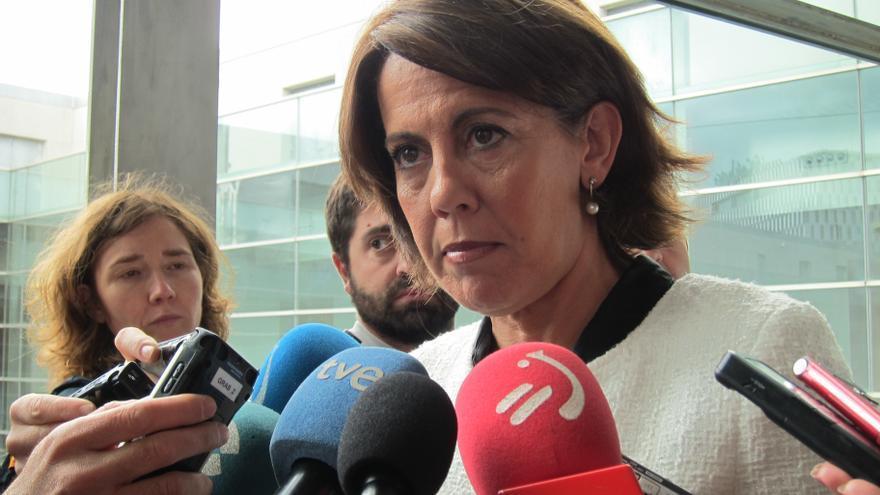 """Barcina dice que """"no se puede comparar"""" el déficit de Navarra con el resto de CCAA """"por el régimen fiscal diferente"""""""