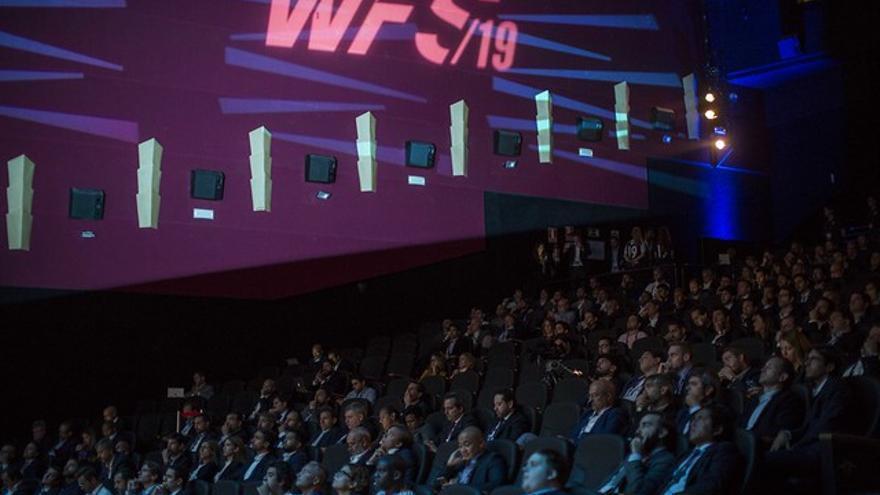 Imagen de la cuarta edición del World Football Summit.