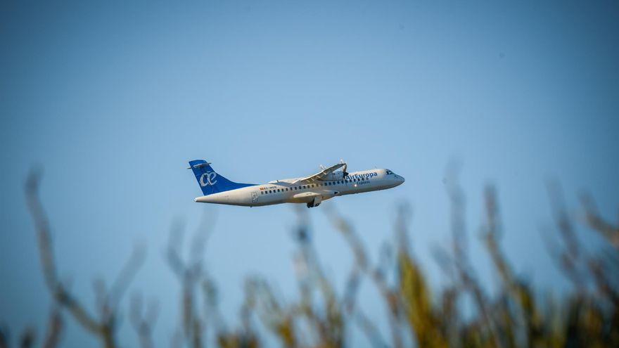 Avión ATR de Air Europa Express, en una imagen de archivo