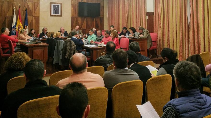 Junta del Consejo Insular de Aguas de La Palma celebrada este miércoles.