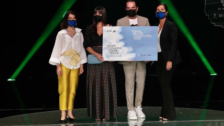 Aurelia Gil y Palmas comparten el premio a la Mejor Colección 2020 de la Semana de la Moda Baño de Gran Canaria