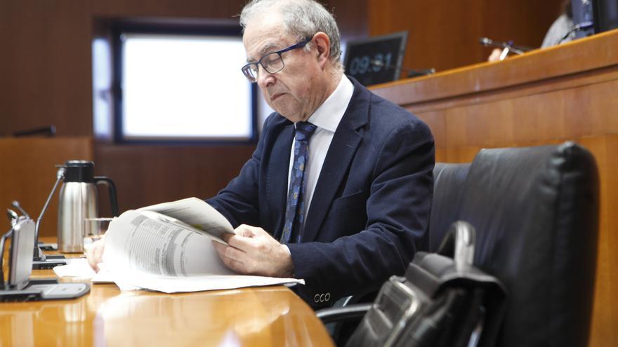 Fernando Gimeno, en su comparecencia en las Cortes de Aragón