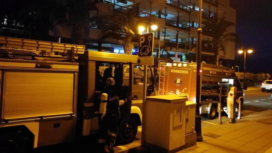 Una sartén  al fuego da un susto en Los Cancajos