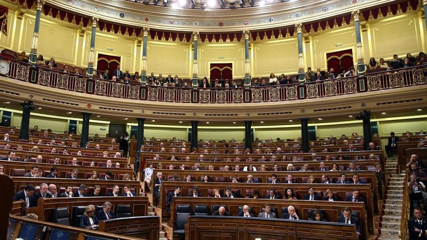 El Congreso acuerda no celebrar Pleno la semana de los cónclaves de PP y Podemos