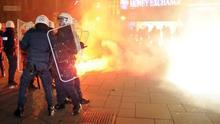 Una protesta contra la ultraderecha deja 15 detenidos y 20 heridos en Viena
