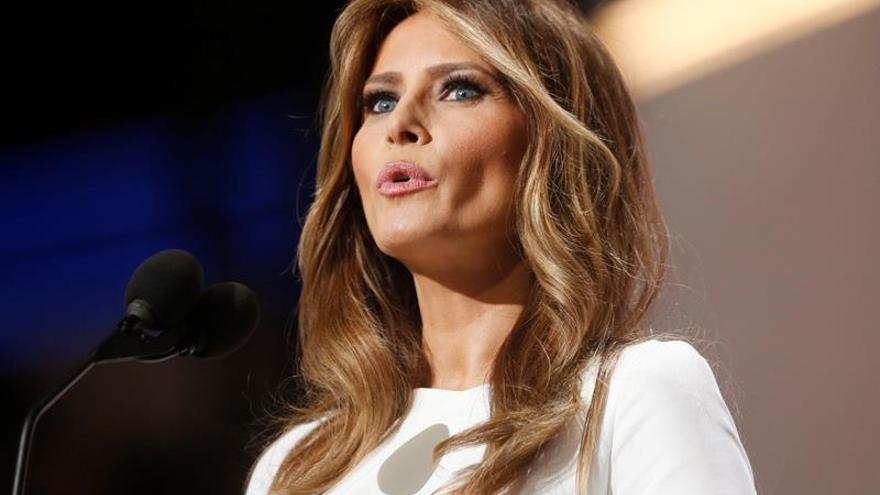 La redactora del discurso de Melania Trump admite que incluyó frases de Obama