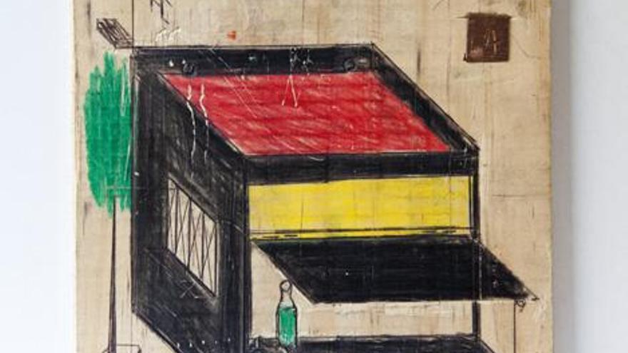 Obra de la exposición 'Bestea Naiz/ El otro soy yo'