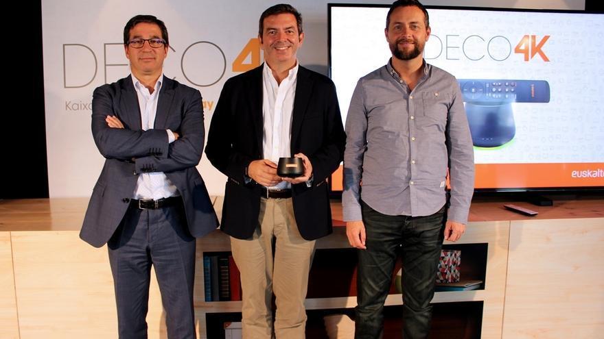 Euskaltel lanza el primer decodificador de televisión del Estado con aplicaciones Android TV y calidad de imagen 4K