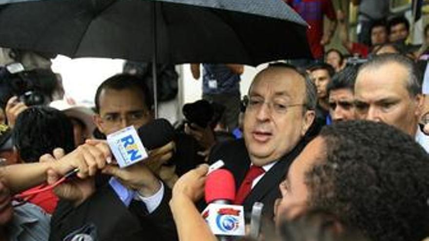 Ex presidente de Costa Rica, Rafael Ángel Calderón