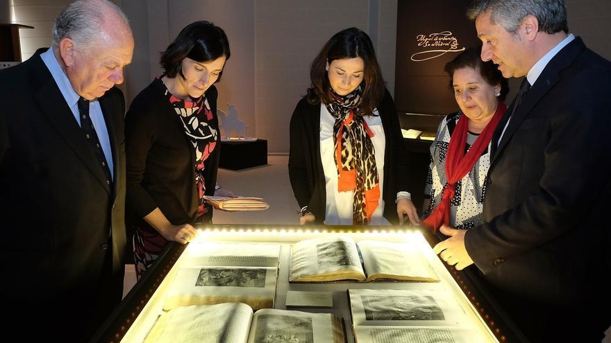 'Cervantes inmortal' reúne en el Casyc algunas de las ediciones más famosas y antiguas de sus obras