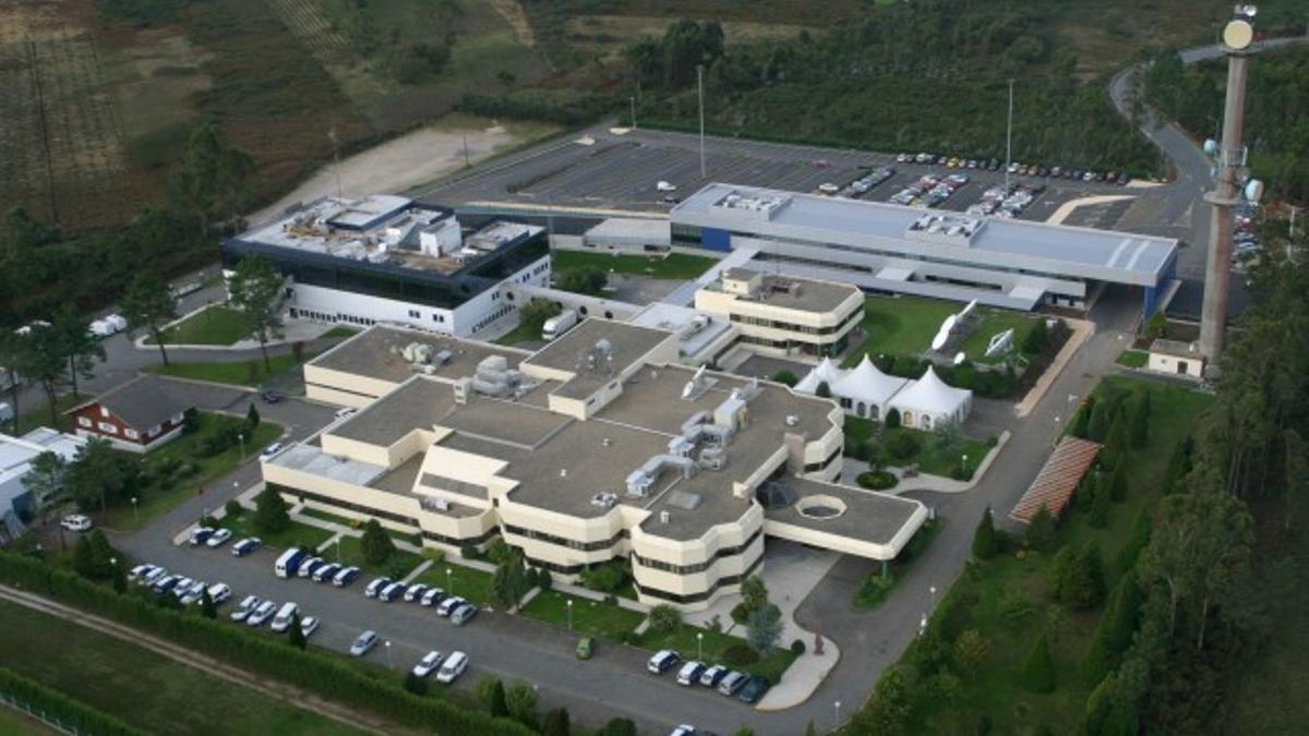 Imagen de la sede de la CRTVG