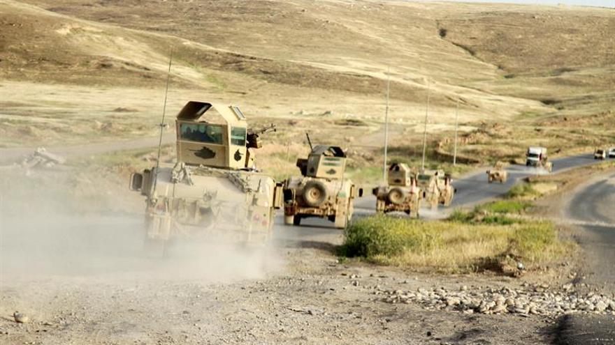 Las fuerzas iraquíes irrumpen en Al Qaim, feudo del EI en la frontera siria