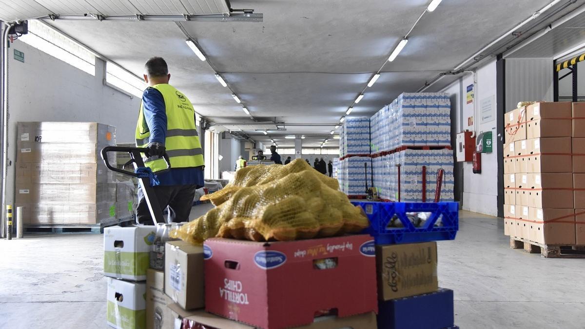 Campaña 'Ningún hogar sin alimentos' impulsada por la Fundación La Caixa
