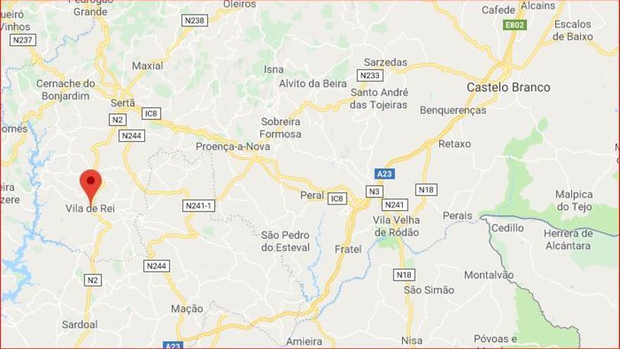 Castelo Branco mapa