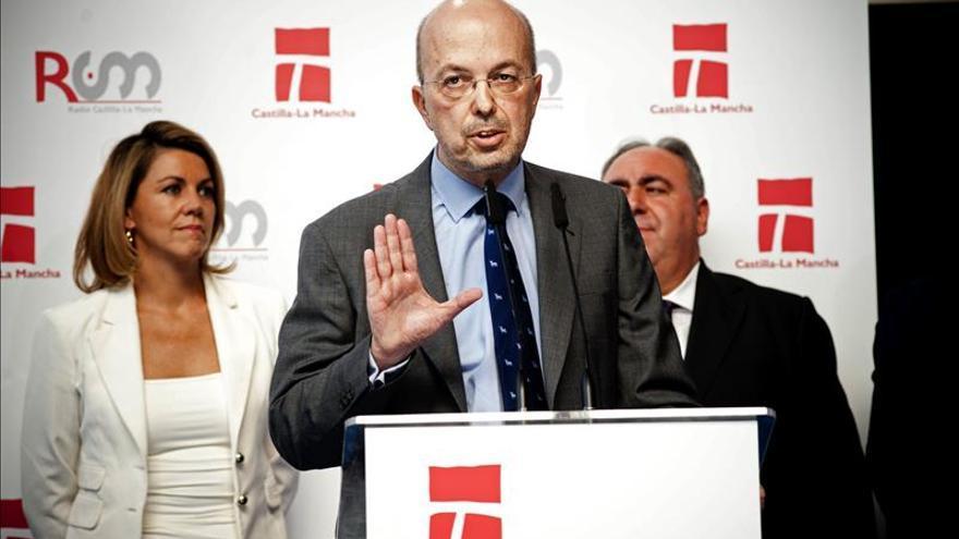 Nacho Villa en un acto de presentación del ente