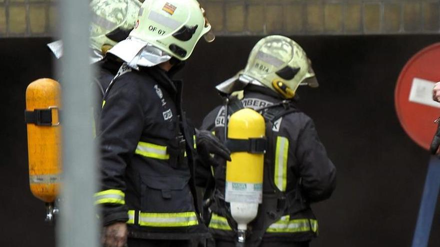 Cuatro fallecidos en un incendio en Bilbao