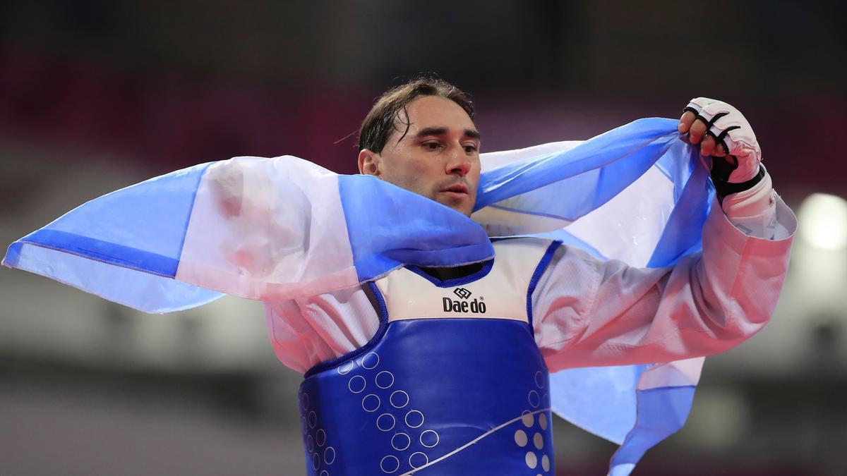 Juan Samorano ganó la medalla de bronce en Taekwondo por los Juegos Paralímpicos Tokio 2020.