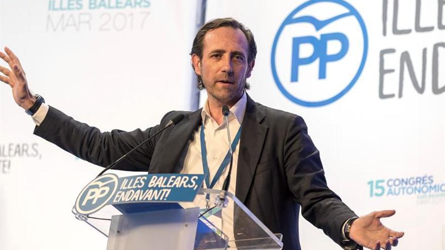 """Bauzá, dispuesto a impulsar una alternativa """"liberal"""" ante el congreso del PP"""