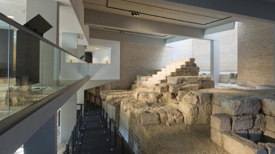 Interior del Museo Arqueológico de Córdoba.