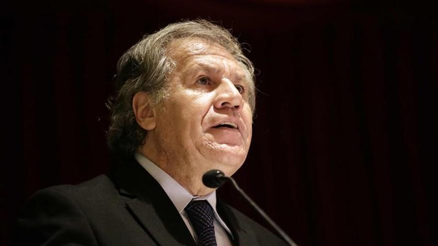 Almagro comparte la preocupación de la CIDH por el indulto a Fujimori