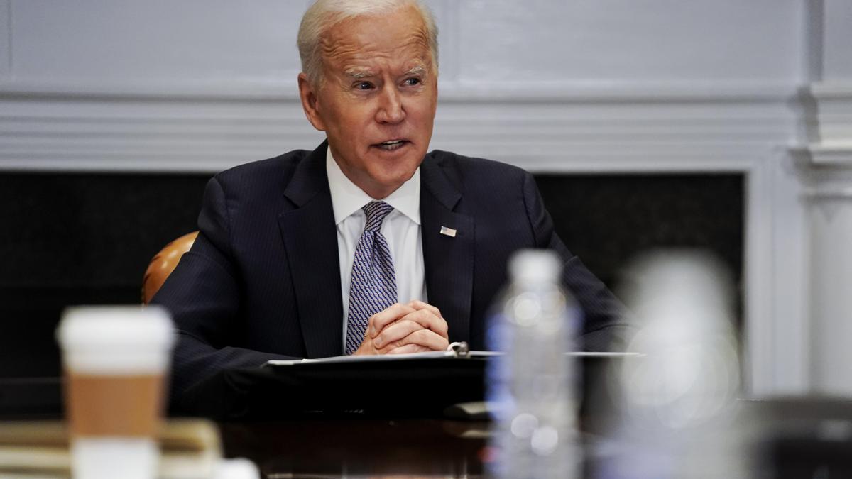 El presidente estadounidense, Joe Biden. EFE/Amr Alfiky