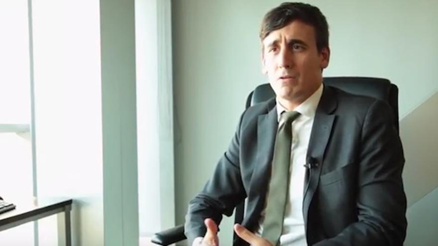 El director de la SPRI, Alex Arriola
