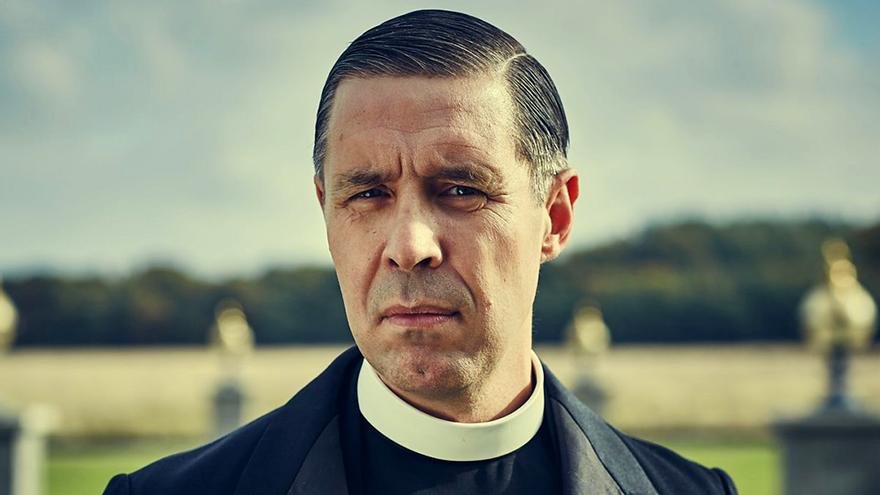 Paddy Considine, en su papel del padre John Hughes en 'Peaky Blinders'