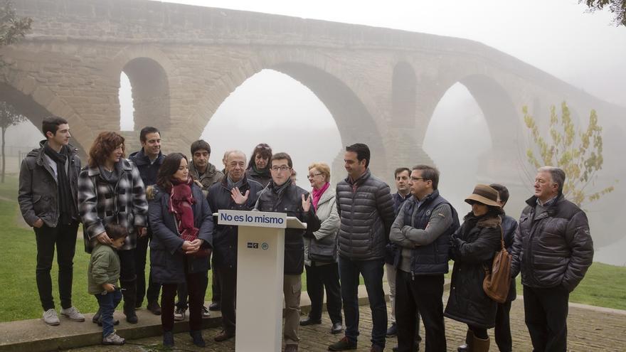 """UPN-PP llaman a """"impedir que Navarra cierre la puerta a Europa con planes independentistas de Geroa Bai y Bildu"""""""
