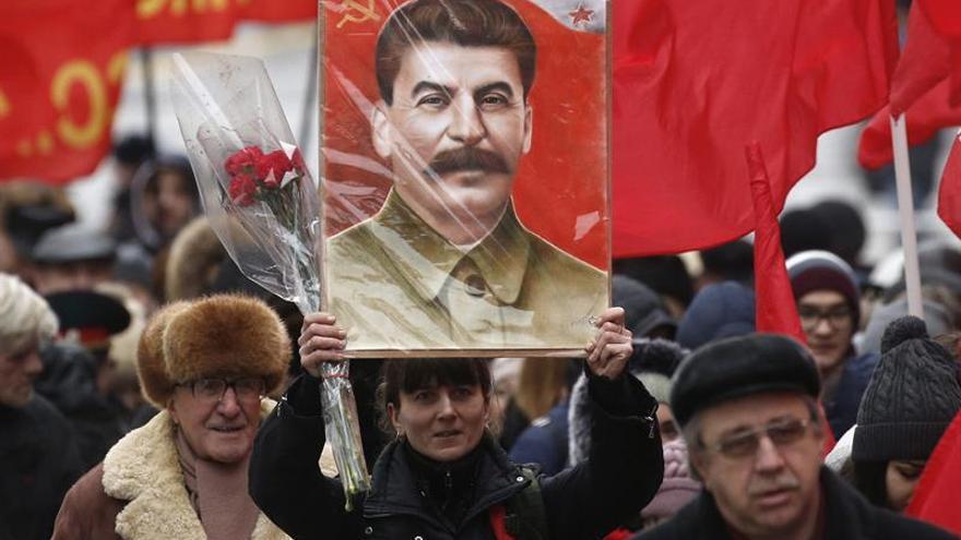 Un 38 % de rusos dice que Stalin es el personaje más grande de la historia