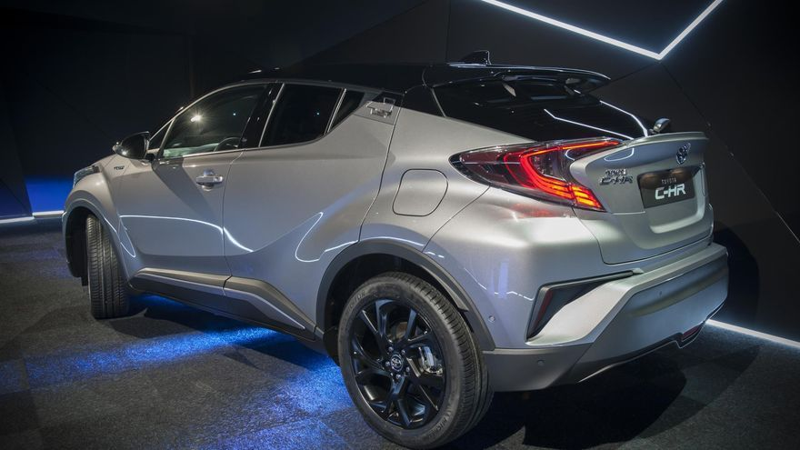 El Toyota C-HR se lanza en España con una serie limitada denominada Launch Edition