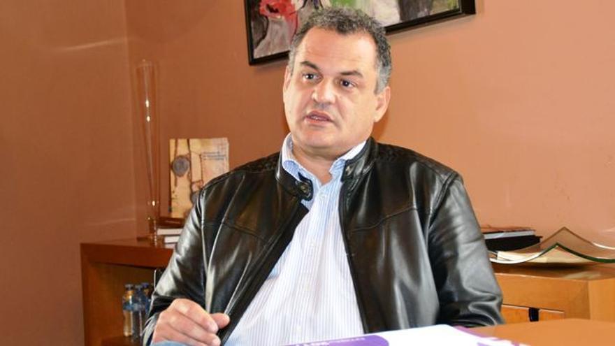 José Alberto Díaz, alcalde de La Laguna, de CC, en una foto de archivo