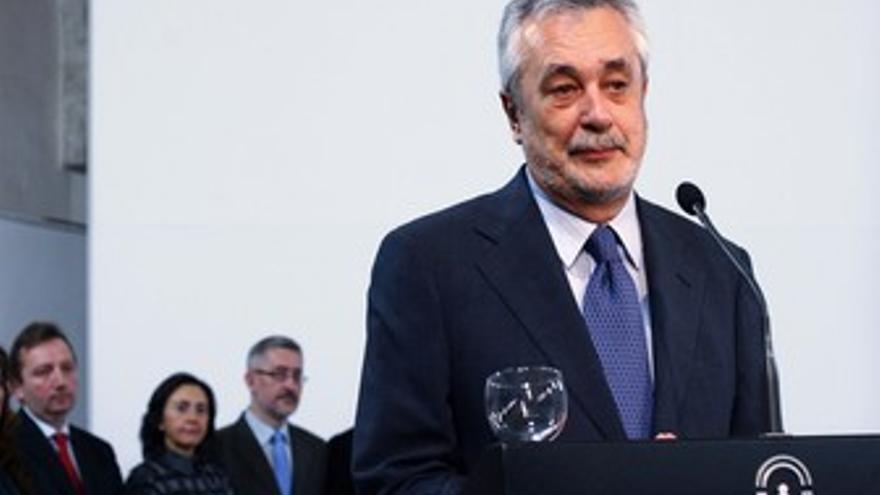 El presidente de la Junta de Andalucía y secretario general del PSOE-A, José Ant