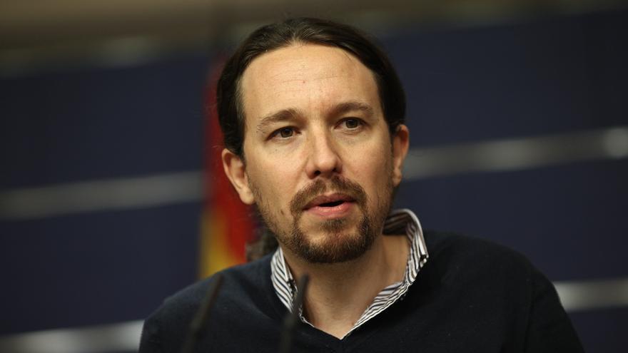 Pablo Iglesias defiende la protesta contra la investidura de Rajoy pero evita pronunciarse sobre sus lemas