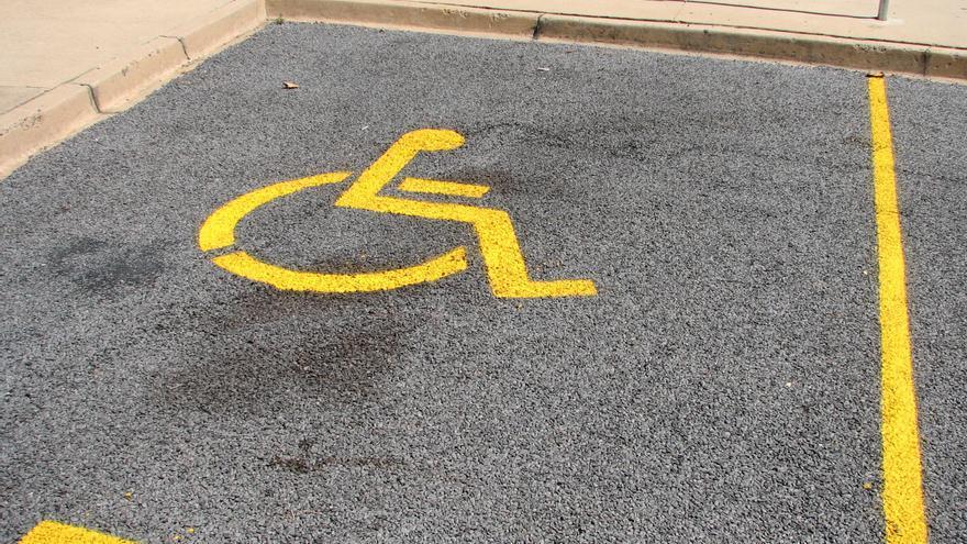 Parking movilidad reducida