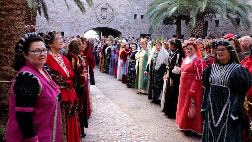 Ambientación de la época de Carlos V en Extremadura