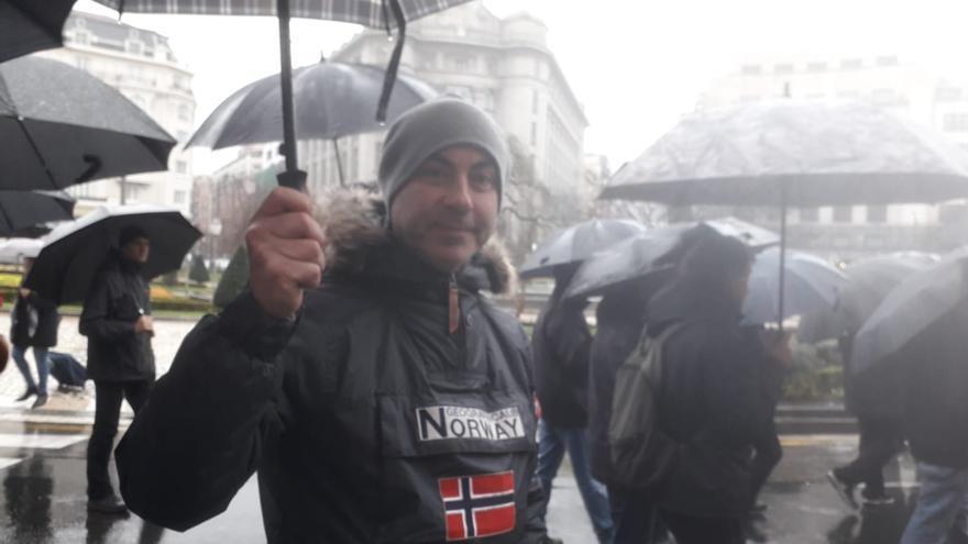 Oscar Calvo cumple 36 años en la Naval