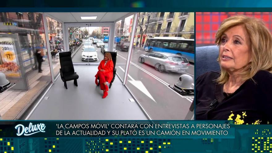 María Teresa desveló a quién le gustaría entrevistar en 'La Campos móvil