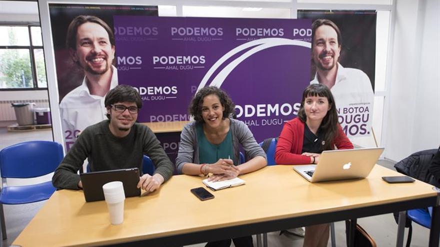 Podemos: Los resultados de Euskadi apuntan a que no somos flor de un día