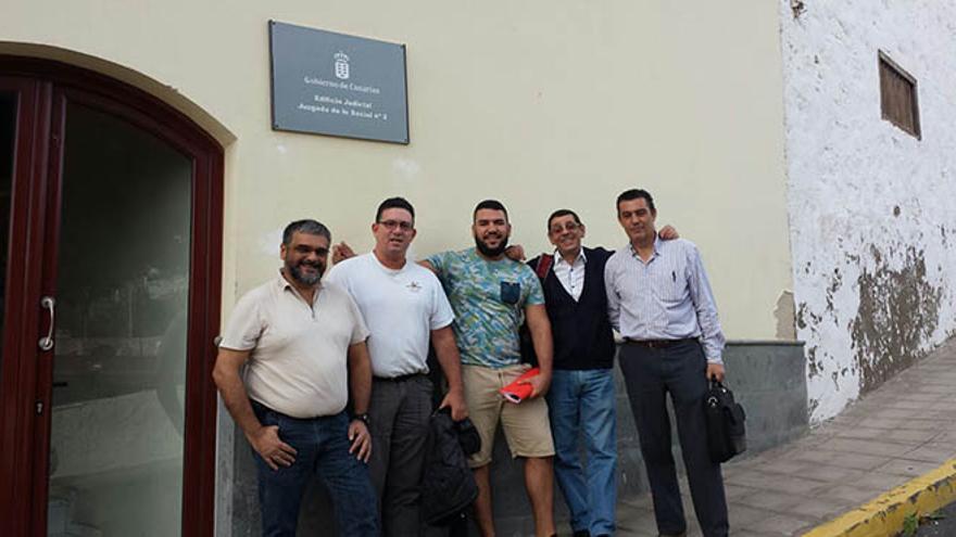 Guardias de varios edificios institucionales de Fuerteventura