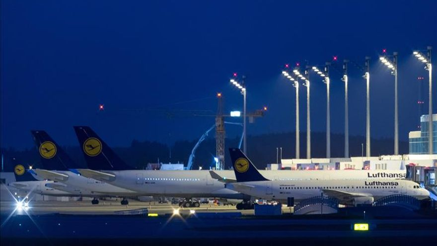 La huelga del personal de cabina en Lufthansa provoca 933 cancelaciones