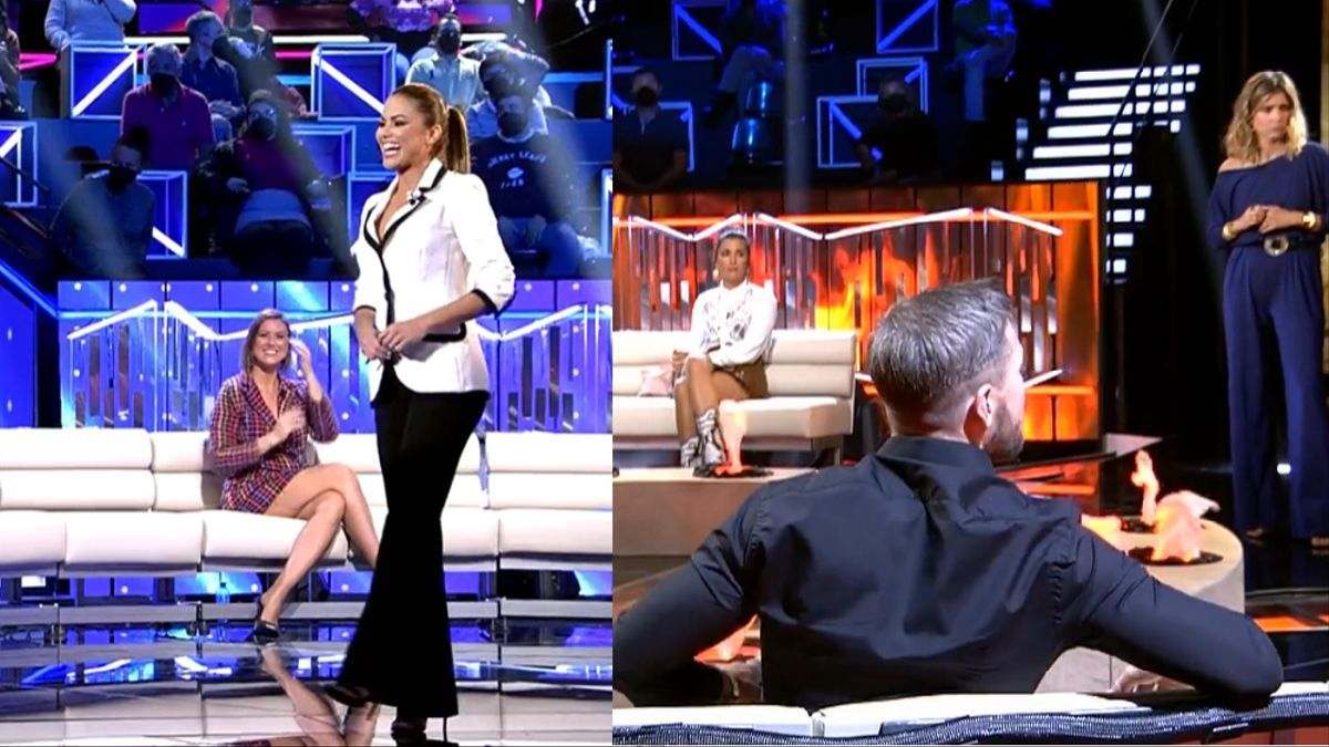 Lara Álvarez en 'Secret Story' y Sandra Barneda en 'La última Tentación'